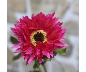 Kunstig Chryssantemum Pink