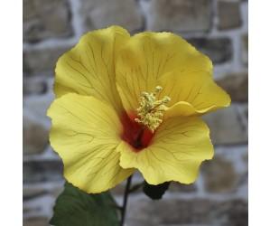 gul kunstig blomst