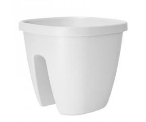 Aflang altankasse selvvanding - Hvid
