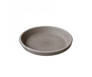 Keramik underskål brun